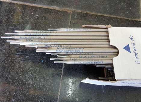لیست قیمت انواع سایزهای 2.5 3 4 5 الکترود جوش میکا MICA